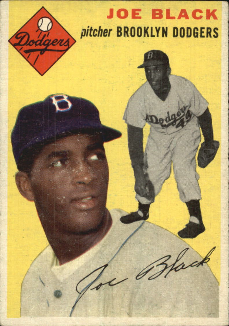 1954 Topps #98 Joe Black