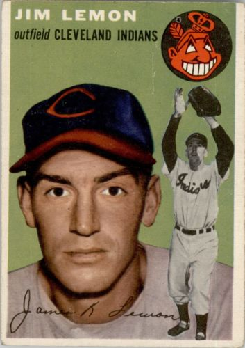 1954 Topps #103 Jim Lemon RC