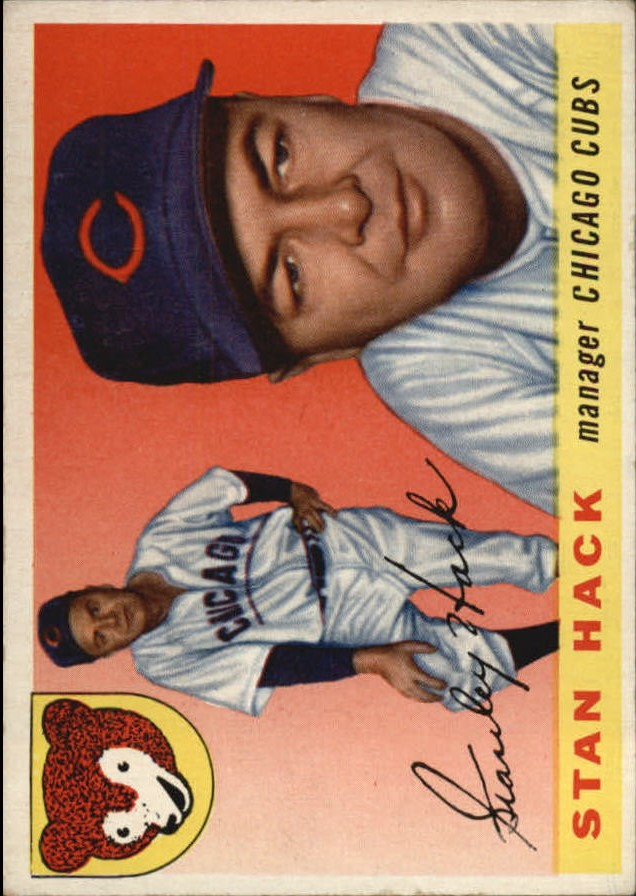 1955 Topps #6 Stan Hack MG RC