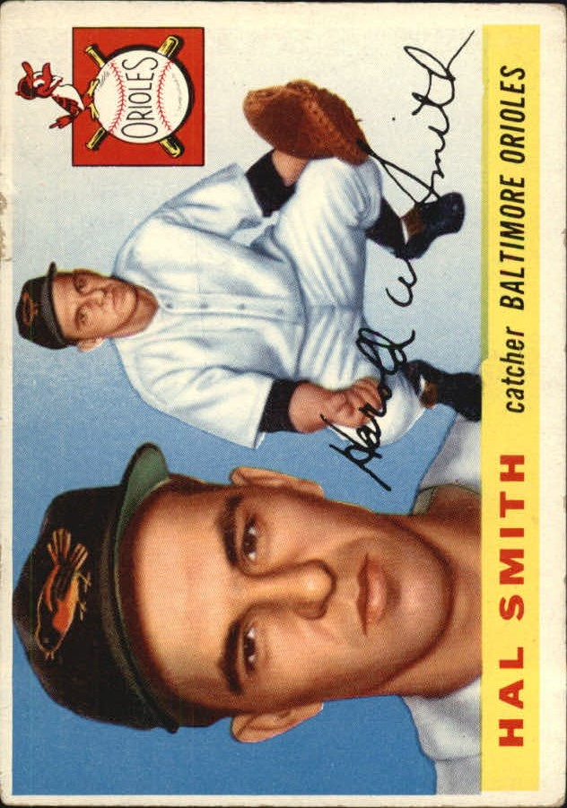 1955 Topps #8 Harold Smith RC front image