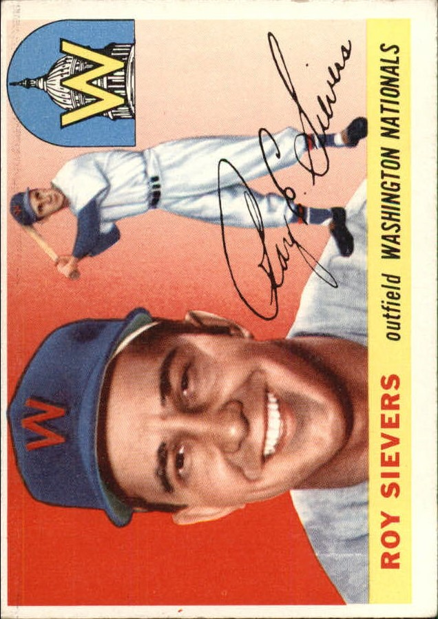 1955 Topps #16 Roy Sievers