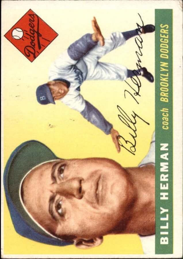 1955 Topps #19 Billy Herman CO