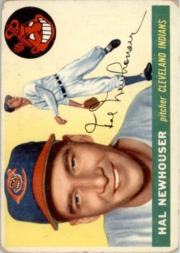 1955 Topps #24 Hal Newhouser