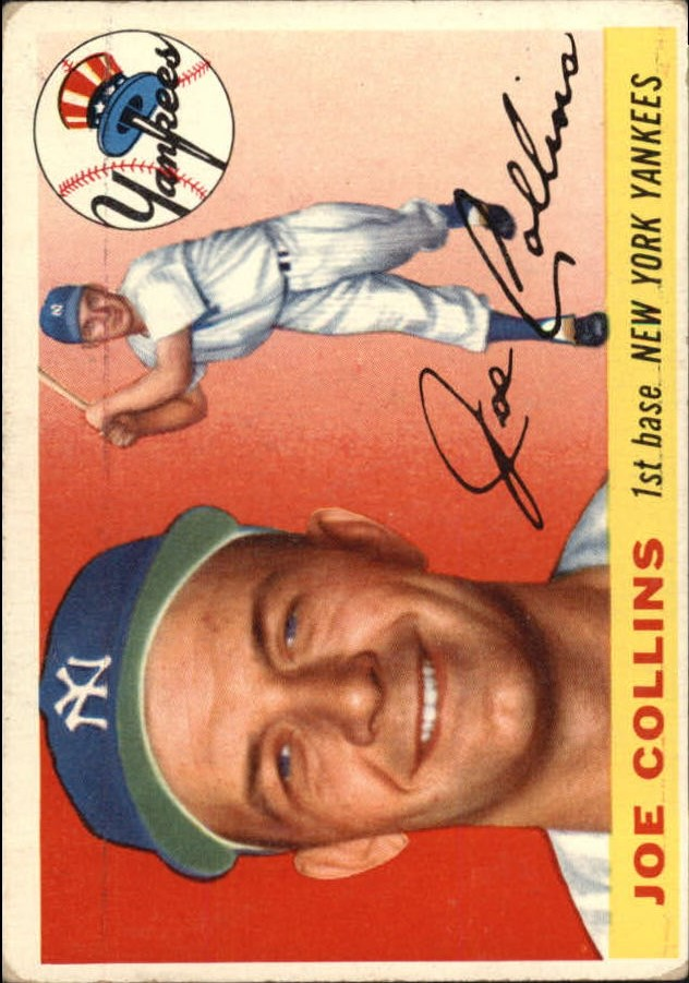 1955 Topps #63 Joe Collins