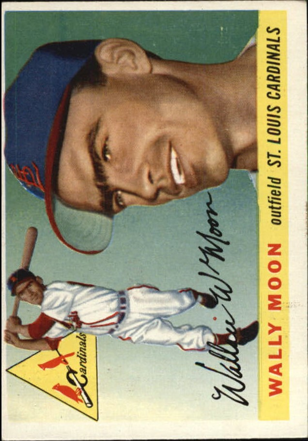 1955 Topps #67 Wally Moon front image