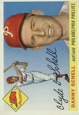 1955 Topps #79 Clyde Danny Schell RC