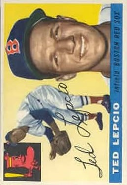 1955 Topps #128 Ted Lepcio