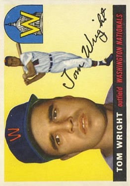 1955 Topps #141 Tom Wright