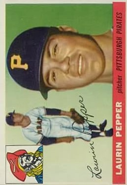 1955 Topps #147 Hugh Pepper RC front image