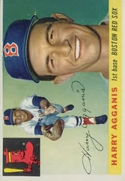 1955 Topps #152 Harry Agganis RC
