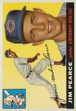 1955 Topps #170 Jim Pearce DP RC