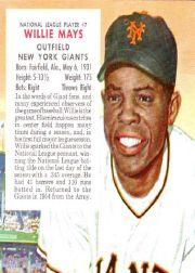 1955 Red Man #NL7 Willie Mays