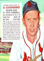 1955 Red Man #NL18 Red Schoendienst