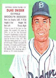 1955 Red Man #NL19 Duke Snider