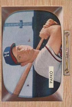 1955 Bowman #12 Andy Pafko
