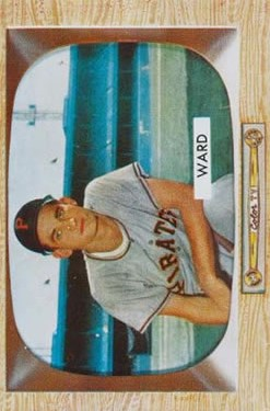 1955 Bowman #27 Preston Ward