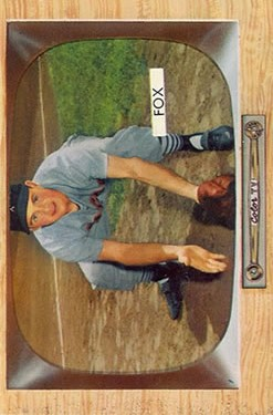 1955 Bowman #33 Nellie Fox