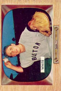 1955 Bowman #47 Sammy White