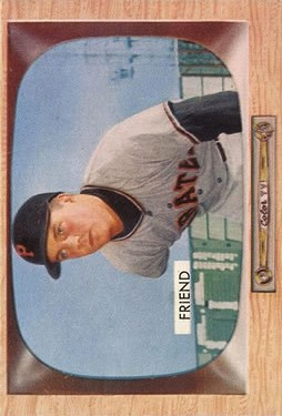 1955 Bowman #57 Bob Friend