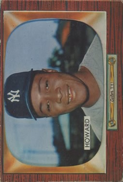 1955 Bowman #68 Elston Howard RC