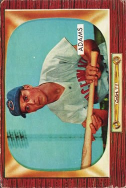 1955 Bowman #118 Bobby Adams