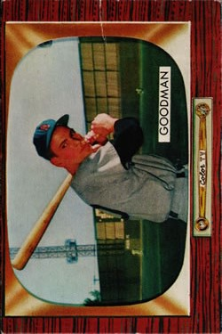 1955 Bowman #126 Billy Goodman front image
