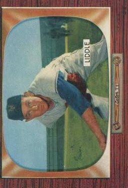 1955 Bowman #146 Don Liddle