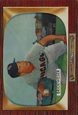 1955 Bowman #151 Jim Brideweser