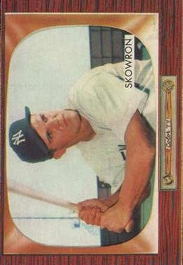 1955 Bowman #160 Bill Skowron