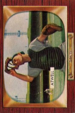 1955 Bowman #164 Toby Atwell