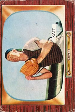 1955 Bowman #183 Ray Katt