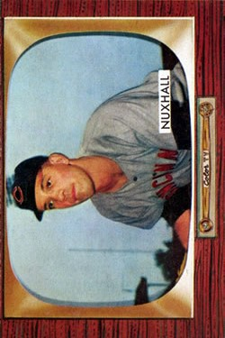 1955 Bowman #194 Joe Nuxhall