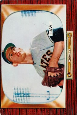 1955 Bowman #199 Vern Law