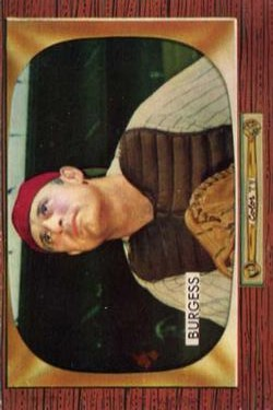 1955 Bowman #209 Smoky Burgess