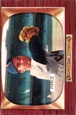 1955 Bowman #214 Billy Pierce