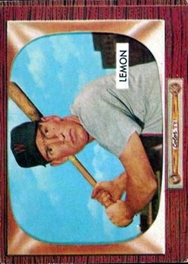 1955 Bowman #262 Jim Lemon FBC