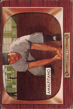 1955 Bowman #269 Joe Amalfitano RC