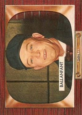 1955 Bowman #295 Lee Ballanfant UMP