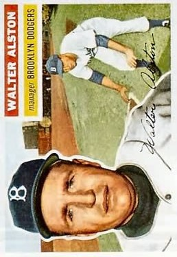 1956 Topps #8 Walter Alston MG RC