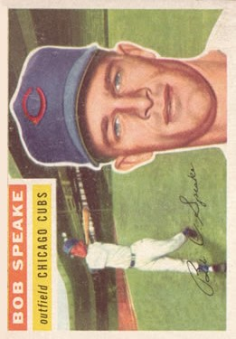 1956 Topps #66 Bob Speake DP RC