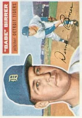 1956 Topps #84 Babe Birrer RC