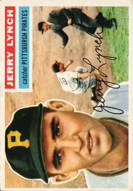 1956 Topps #97 Jerry Lynch