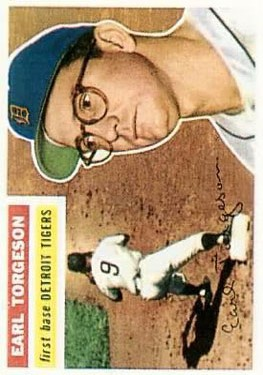 1956 Topps #147 Earl Torgeson