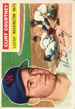 1956 Topps #159 Clint Courtney