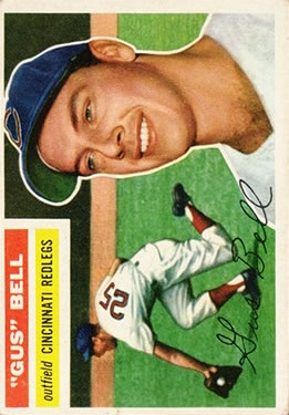 1956 Topps #162 Dave Gus Bell