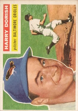 1956 Topps #167 Harry Dorish