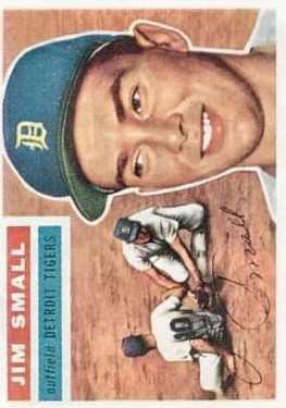 1956 Topps #207 Jim Small RC