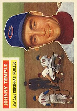 1956 Topps #212 Johnny Temple