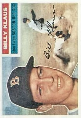 1956 Topps #217 Billy Klaus