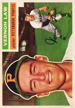 1956 Topps #252 Vern Law